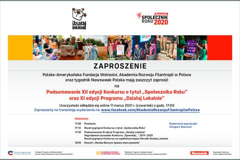 Zaproszenie_Spolecznik_Roku_i_Dzialaj Lokalnie.png