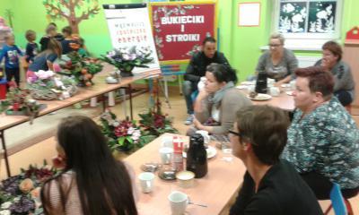 Na spotkanie przyszło wiele zainteresowanych osób