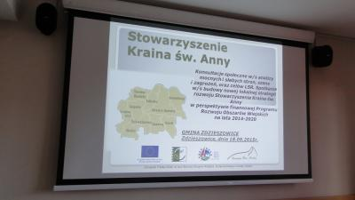 Galeria Fotorelacja z konsultacji społecznych w gminie Zdzieszowice i gminie Gogolin w dniu 18.09.2015r