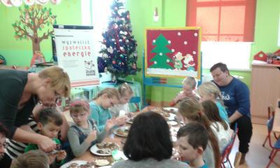 Ozdabianie słodkości na Święta