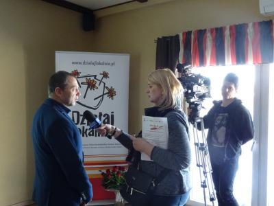 Kurier Opolski TVP Opole przyjechał na nasze spotkanie