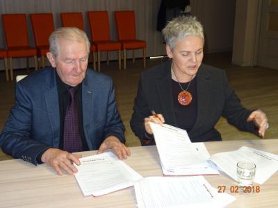 Galeria Umowy podpisane - darowizny przekazane