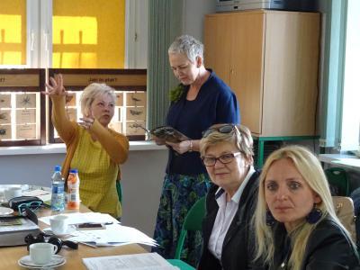 Galeria Spotkanie grupy roboczej międzynarodowego projektu współpracy