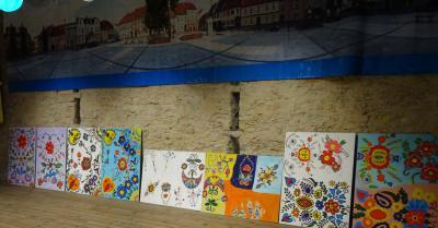 """Galeria Warsztaty """"Kraina tradycją malowana"""""""