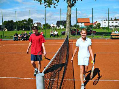 Korty tenisowe, Stradunia