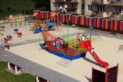 Plac zabaw w Gogolinie