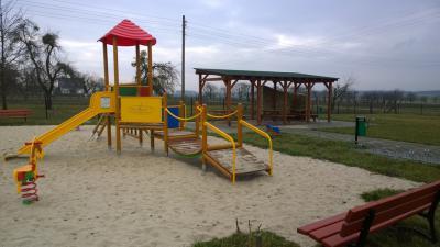 Plac zabaw w Zalesiu Śląskim