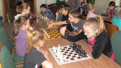 Turniej szachowy w Leśnicy
