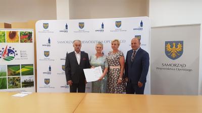 Galeria Podpisanie Aneksu zwiększającego budżet LSR