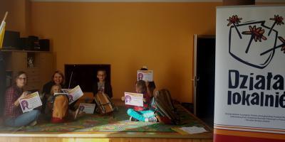 Galeria Przystanek Rozwój w ramach Działaj Lokalnie