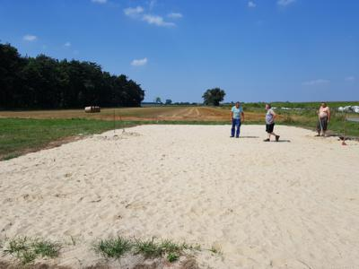 Galeria Rozmierka - boisko do plażówki