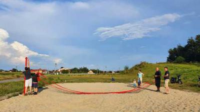 Galeria Rozmierka boisko do plażówki
