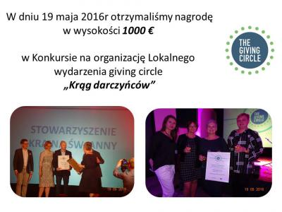 Galeria Giving circle