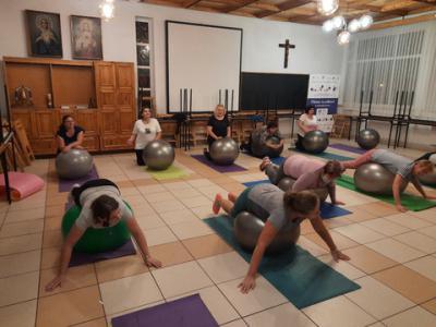 Galeria Pilates na piłkach