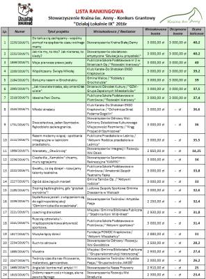 Lista rankingowa Działaj Lokalnie IX.png