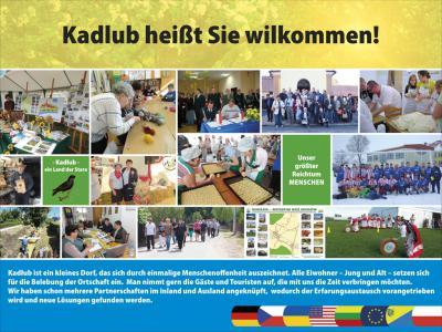 Plakat zapraszający do Kadłuba