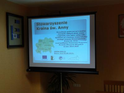 Galeria Fotorelacja z konsultacji społecznych w gminie Walce w dniu 02.09.2015r.