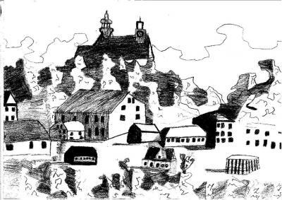 Karol Dudarz - Widok na Górę Św. Anny
