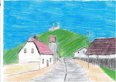 Wiktoria Kusz - Widok na Górę Św. Anny