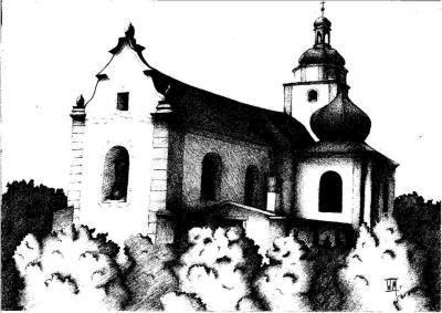 Weronika Materla - Kościół św. Mikołaja w Żyrowej