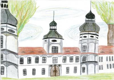 Kaja Kałwa - Pałac rodziny von Gaschin w Żyrowej