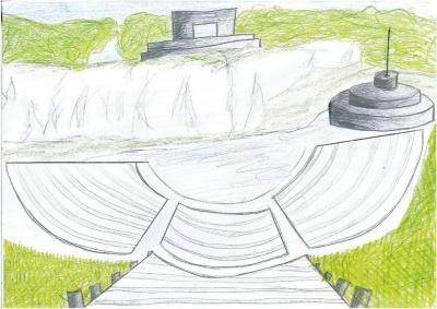 Małgorzata Zgodzaj - Amfiteatr i Pomnik