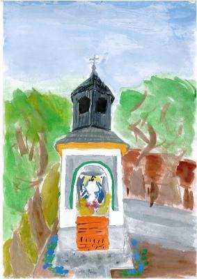 Filip Golec - Kapliczka - dzwonnica w Licheni