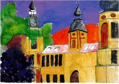 Wiktoria Radzka - Pałac w Żyrowej