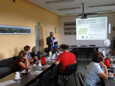 Galeria Fotorelacja z konsultacji społecznych w gminie Krapkowice w dniu 02.09.2015r.